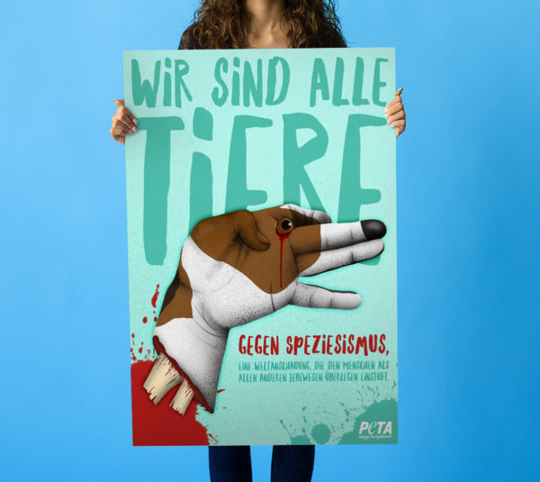 Peta-poster